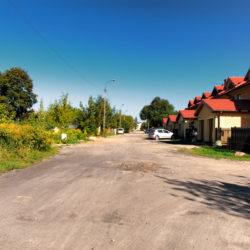 ulica Asnyka - budowa