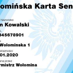 Nowi partnerzy Wołomińskiej Karty Seniora
