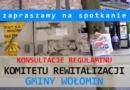 Raport z przeprowadzenia konsultacji społecznych dotyczących Komitetu Rewitalizacji Gminy Wołomin