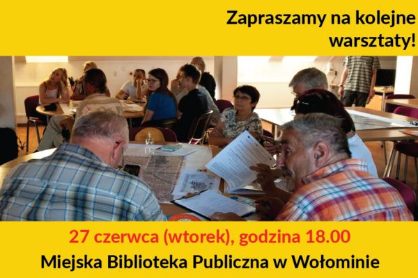Kolejne warsztaty – MPZP Centrum!