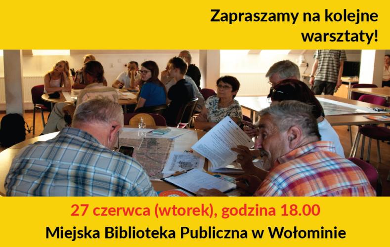 Kolejne warsztaty - MPZP Centrum!