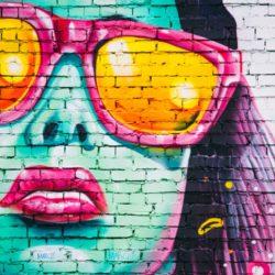Wielkie graffiti na targowisku! Przyjdź i zobacz jak powstaje!