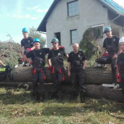 Strażacy z Wołomina pomagają w Rytlu na Pomorzu!