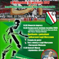 WBO spotkanie z gwiazdami - piłkarzami Legii Warszawa