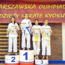 4 medale karateków na Olimpiadzie Młodzieży