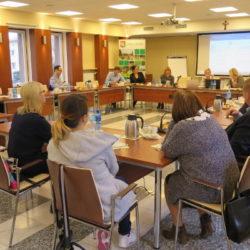 Płatności bezgotówkowe w biznesie - spotkanie przedstawicieli Ministerstwa Rozwoju z wołomińskimi przedsiębiorcami
