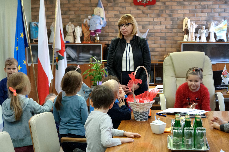 Przedszkolaki odwiedziły Urząd Miejski w Wołominie!
