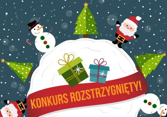 Konkurs na najładniejsza kartkę na Boże Narodzenie rozstrzygnięty!