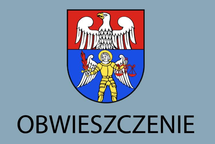 Zawiadomienie Starosty Wołomińskiego o wyłożeniu do wglądu operatu opisowo-kartograficznego modernizacji ewidencji gruntów i budynków dla obrębu 0004 - Mostówka