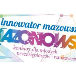Konkurs Innowator Mazowsza