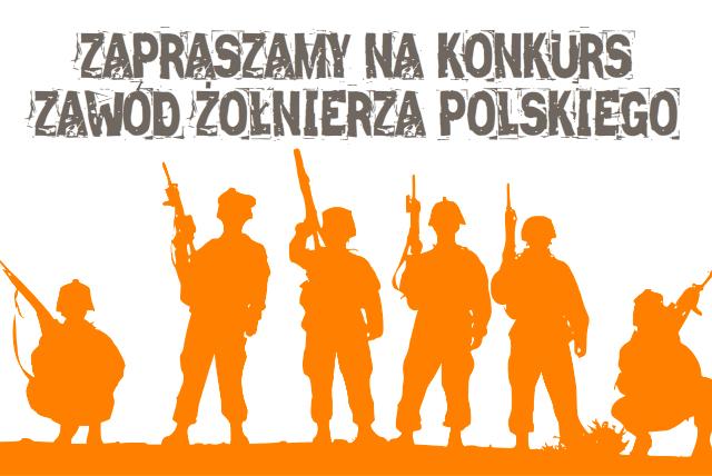 """Konkurs plastyczny """"Zawód żołnierza polskiego"""""""