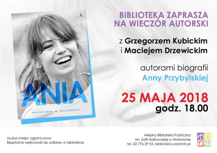 Spotkanie autorskie z autorami książki o Annie Przybylskiej