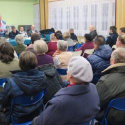 Spotkanie o bezpieczeństwie z mieszkańcami Os. Słoneczna