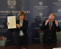 Umowa na dofinansowanie ulicy Grabicznej w Ossowie podpisana