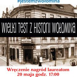 Już wkrótce wyniki Wielkiego Testu z Historii Wołomina!