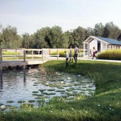 Powstaje park przy Muzeum im. Nałkowskich w Wołominie