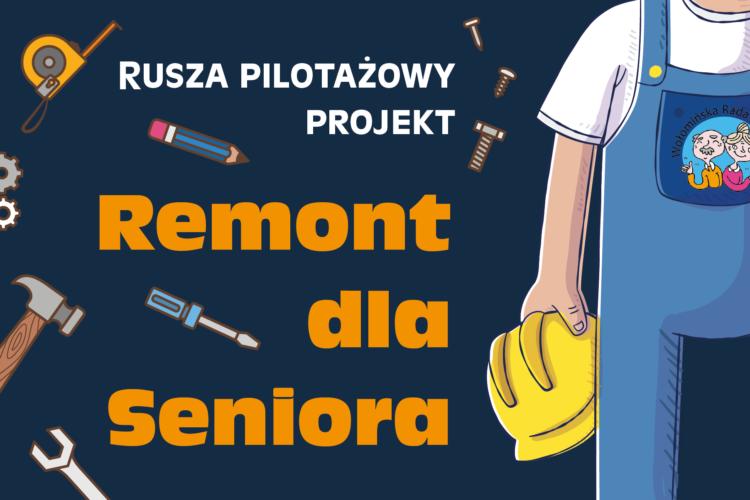 Ruszył pilotażowy projekt Remont dla Seniora