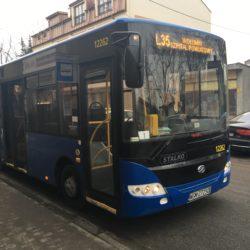 """Informacja o zmianie trasy przejazdu linii """"L"""""""