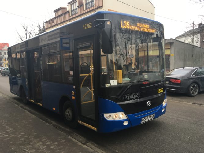 Zmiany tras autobusów linii L35, L36 i L37