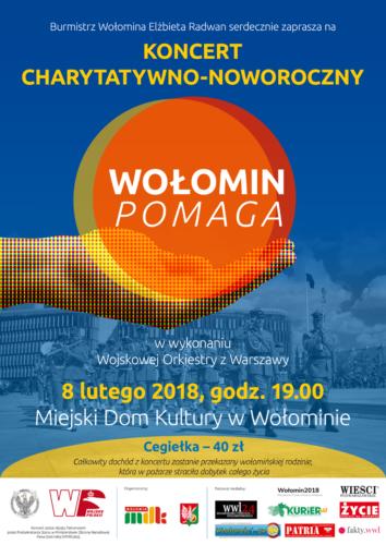 """Koncert Charytatywno-Noworoczny """"Wołomin Pomaga"""""""