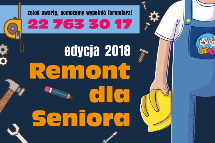 Kontynuujemy projekt Remont dla Seniora