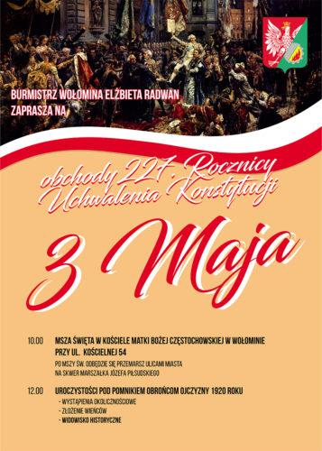 Uroczyste obchody rocznicy uchwalenia Konstytucji 3 Maja