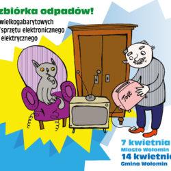 Zbiórka odpadów wielkogabarytowych oraz zużytego sprzętu elektrycznego i elektronicznego