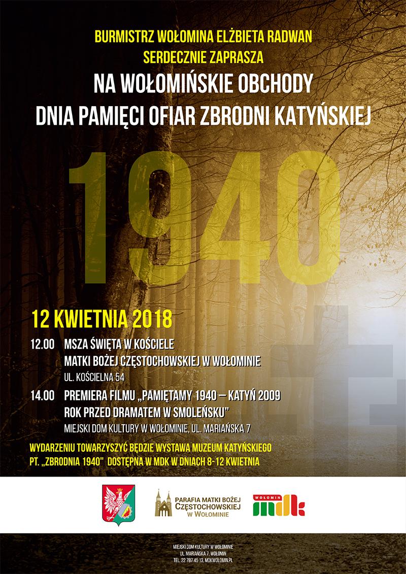 56185efa4ed7c Serdecznie zapraszamy na wołomińskie obchody Dnia Pamięci Ofiar Zbrodni  Katyńskiej