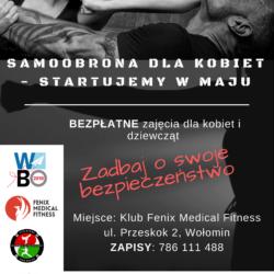 Samoobrona dla kobiet - bezpłatne zajęcia w ramach WBO 2018