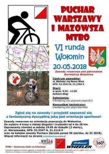 Zawody rowerowe pod patronatem Burmistrza Wołomina