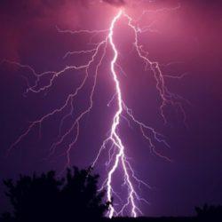 Ostrzeżenie przed gradem i burzami