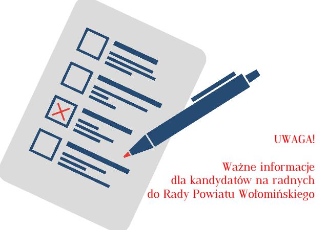 Komunikat Powiatowej Komisji Wyborczej w Wołominie
