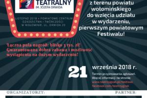 Zapraszamy na Wołomiński Festiwal Teatralny!