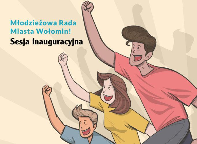 Zaproszenie na sesję inauguracyjną Młodzieżowej Rady Miasta Wołomin