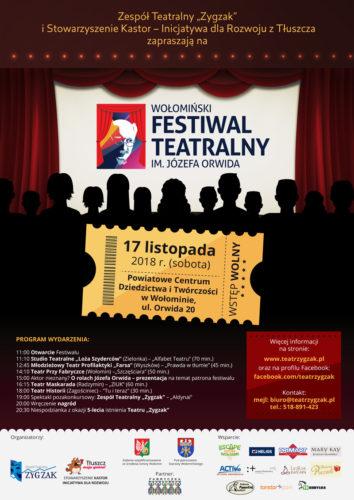 Wołomiński Festiwal teatralny im. Józefa Orwida