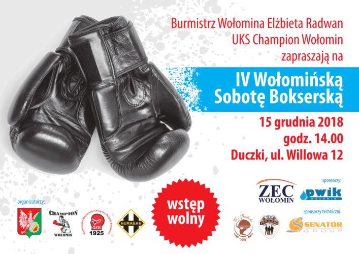 IV Wołomińska Sobota Bokserska