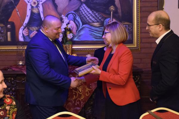 Wizyta węgierskiej delegacji w Wołominie