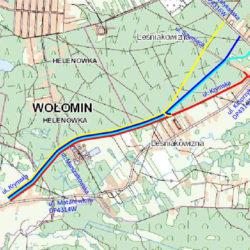 Konsultacje społeczne w sprawie przyszłego przebiegu projektowanej  ulicy Krymskiej w Leśniakowiźnie