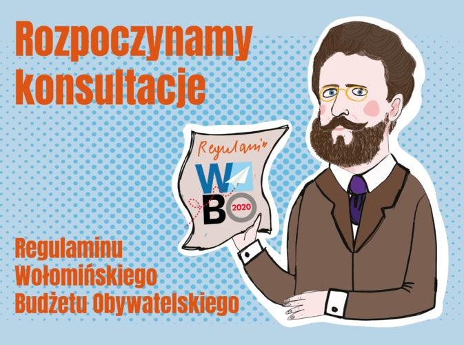 Konsultujemy Regulamin Wołomińskiego Budżetu Obywatelskiego