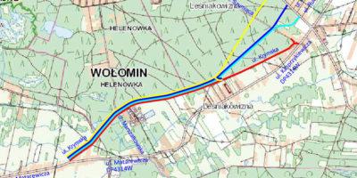 Raport z konsultacji społecznych dotyczących przebiegu projektowanej ulicy Krymskiej w Leśniakowiźnie
