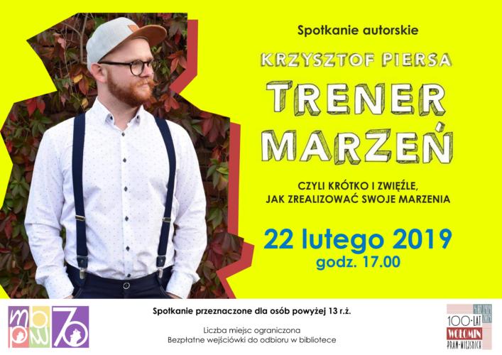 Spotkanie autorskie z Krzysztofem Piersą