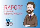 Raport z konsultacji społecznych Regulaminu WBO
