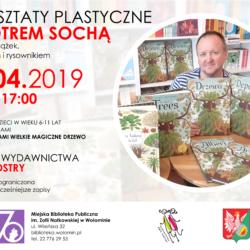 Warsztaty plastyczne z Piotrem Sochą