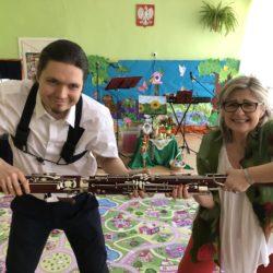 """Podwieczorek muzyczny dla dzieci """"Przyjaciele Pani Wiosny, czyli jak klarnet ścigał się z fagotem"""""""