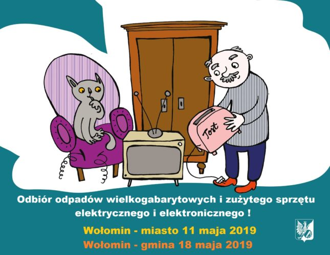 Odbiór odpadów wielkogabarytowych w maju 2019