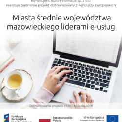 Miasta średnie województwa mazowieckiego liderami e-usług
