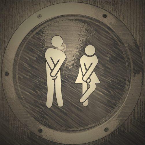 Czasowa awaria toalety w parku Wodiczki