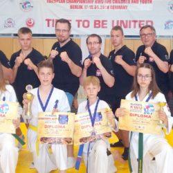 2 medale karateczek z Wołomina na Mistrzostwach Europy!