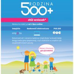 Program 500+ na nowych zasadach