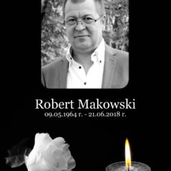 Pierwsza rocznica śmierci śp. Roberta Makowskiego